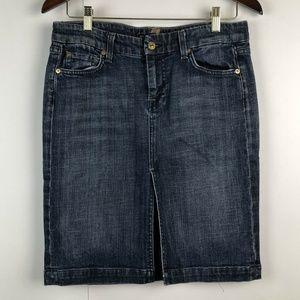 7FAM Size 29 Denim Jean Pencil Skirt